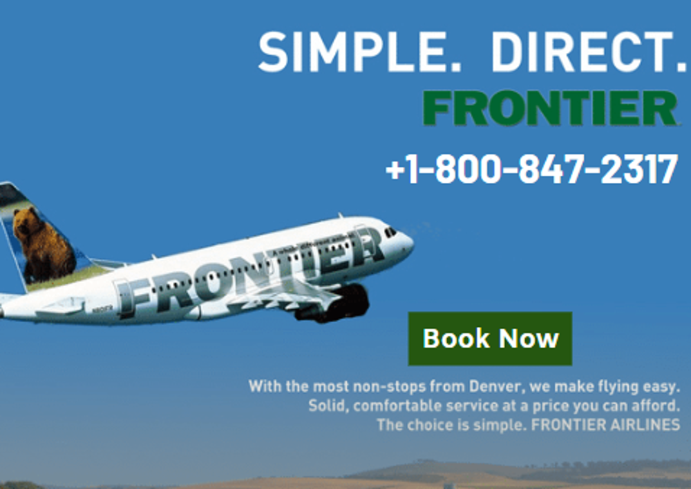 Frontier Airlines Reservations